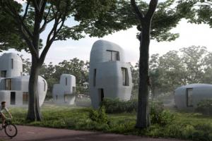 3d-geprinte huizen