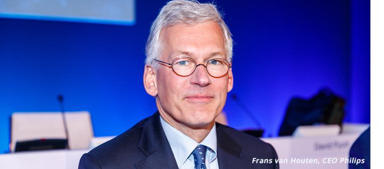 CEO Philips Frans van Houten