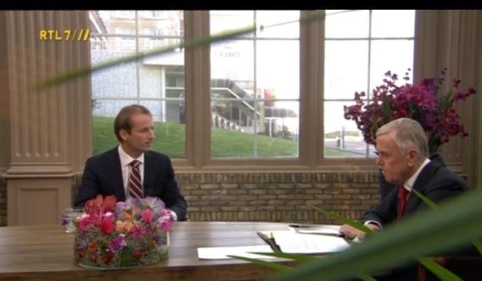 Robert Schuckink Kool bij Harry Mens in Business Class