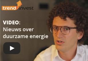 Nieuwsuitzending Trend Invest over ontwikkelingen duurzame energie