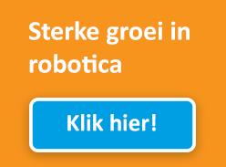 Sterke groei in Robotica